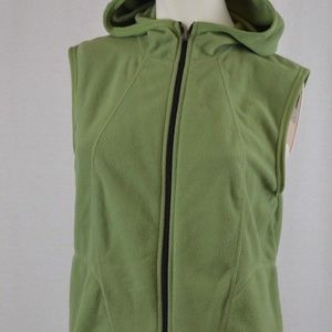 Nike Green Therma fit fleece Vest Youth